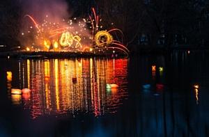 «ГрузовичкоФ» на фестивале водных огней Loy Kratong