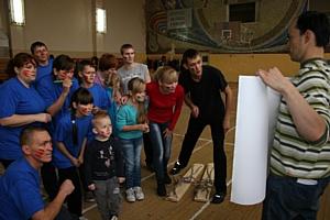 ТГК-5 провела веселые старты «Папа, мама, я – спортивная семья» в Чувашии