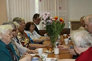 Весенняя неделя добра 2012: Поздравление ветеранов