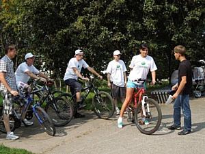Команда Чувашского отделения Сбербанка России приняла участие в спортивно-интеллектуальном марафоне.