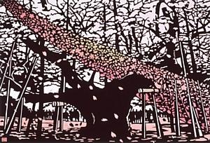 """Выставка """"Кубо Сю. Образы Японии в картинах кириэ"""""""