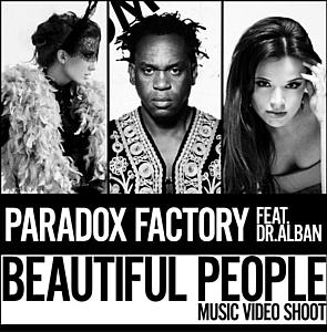 Презентация совместного клипа «Beautiful People» Paradox Factory и Dr.Alban