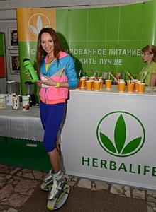 Компания Herbalife – партнер по питанию Киевского Фестиваля фитнеса и рекреации