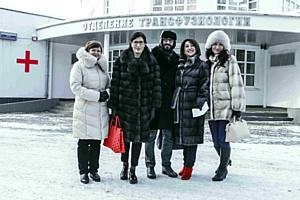В Москве стартовал первый этап акции «Мы дарим свою любовь»