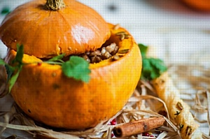 Осень в Счастье обещает быть яркой