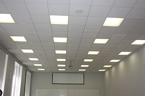 В НИУ ИТМО  внедрена первая система управления освещением «умная аудитория»