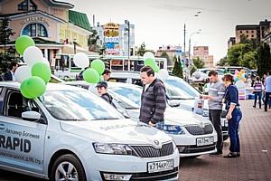 «Автомир Богемия» представила экспозицию Škoda в Дмитрове