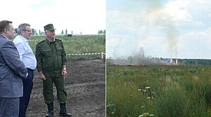 Толоконский высоко оценил новейшие технологии утилизации боеприпасов