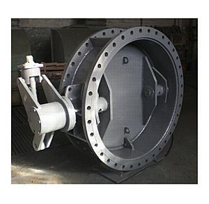 Затворы дисковые с уплотнением металл по металлу