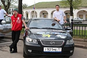 Автомобили Lifan приближаются к середине международного автопробега