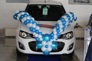 Презентация автомобиля Lada Kalina New в автосалоне «Юникор»
