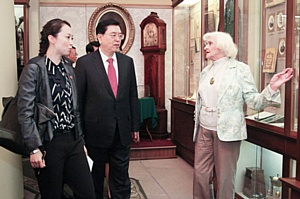 КФУ посетил Председатель Постоянного комитета Всекитайского собрания народных представителей