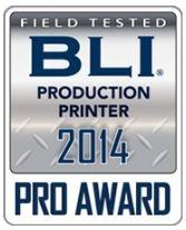 ЦПМ Xerox Colour J75 Press получила престижную награду 2014 PRO от лаборатории BLI