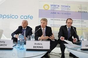 Перспективы пивоваренной отрасли обсудили в рамках деловой программы компании «Балтика» на ПМЭФ'16