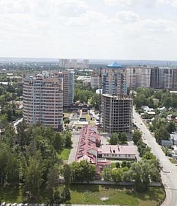 """ЖК """"Борисоглебский"""": в корпусе №1 проводятся работы по возведению стен"""