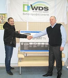 Волна акции WDS 8 SERIES: Современные окна – современный приз принесла победу харьковчанину