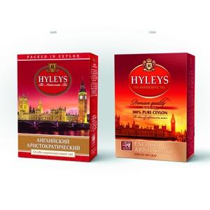 Soldis провел рестайлинг упаковки чая Hyleys