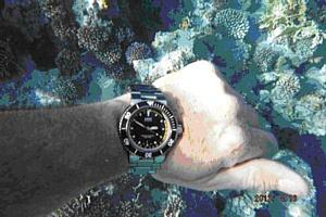 Тест драйв: Oris Aquis Depth Gauge