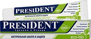 Новая зубная паста President Eco-bio