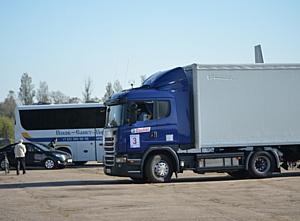 Транспортно-логистическая компания «Ланкс»: Участие в конкурсе «Лучший водитель грузовика - 2014».