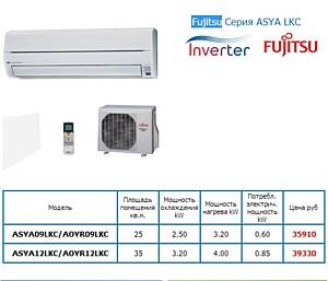 Управление мощностью в инверторных кондиционерах Fujitsu