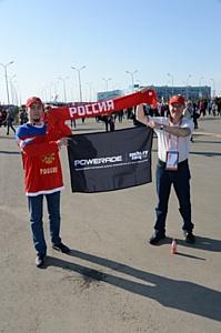 На олимпийский хоккей вместе с Powerade ION4