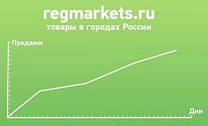 Начал работу глобальный каталог товаров по городам России RegMarkets