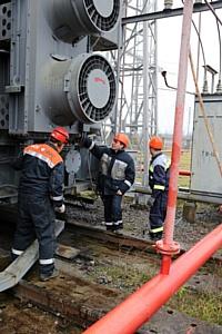 МЭС Северо-Запада построили новую ячейку на подстанции Гатчинская