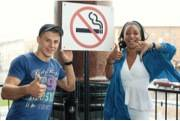 Поцелуи против курения