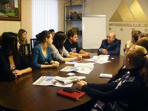 Новосибирский Муниципальный банк продолжает традицию встреч со студентами