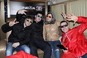 Автобус LG CINEMA 3D посетил 8 российских городов
