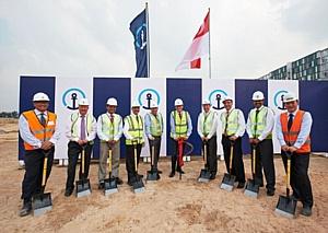 Кюне + Нагель начинает строительство нового многоцелевого склада в Сингапуре