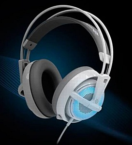 ������������ ��������� SteelSeries Siberia v2 Frost Blue.