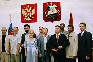 Нелли Агафонова на пресс-конференции:юбилей победы России в  Бородинской битве