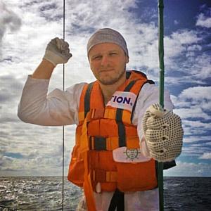 Сибиряки прошли более 2000 миль в открытом океане на разборном катамаране