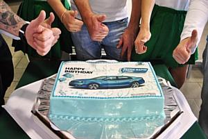 В АвтоСпецЦентре Škoda на Обручева отметили День Рождения бестселлера – Škoda Rapid!