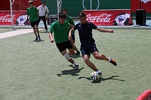 Открытый молодежный турнир по футболу «Кожаный мяч – Кубок Coca-Cola» состоялся в Пятигорске