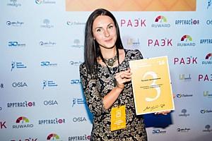EnglishCentral получает два приза в конкурсе «Золотое приложение» после 3 месяцев на рынке России