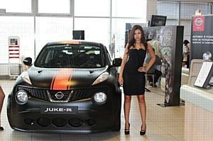 � ���������� ����Ļ ���������� ����������� ����������� ���������� Nissan Juke-R