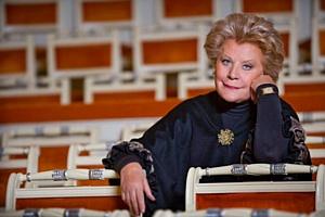 Пресс-конференция, посвященная 50-летию творческой деятельности Елены Образцовой