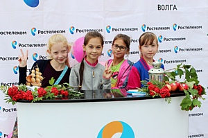 «Ростелеком» поздравил жителей Новочебоксарска с Днем города