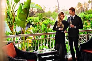 ��������� ���������� ������ Anndra Neen ���������� ������������ ��������� � The Beverly Hills Hotel