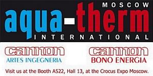 Компания Bono Energia на выставке АQUATHERM MOSCOW 2013 5-8 февраля