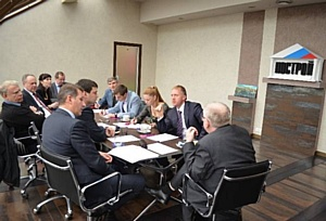 М. Воловик принял участие в заседании Оргкомитета конкурса «Строймастер-2012»