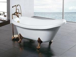 Ванна как основной элемент в ванной комнате.