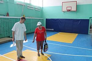 ОНФ в Хакасии проверил состояние спортивных залов в сельских школах республики