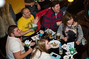 Рольф Витебский отметил открытие Чемпионата мира по хоккею вместе с клиентами