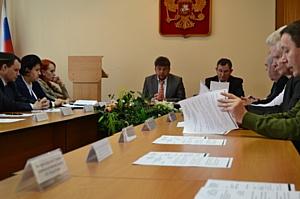 Заседание общественного и консультативного совета  Управления Росреестра