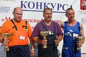 Представители НОСТРОЙ вручили награды лучшим экскаваторщикам столицы