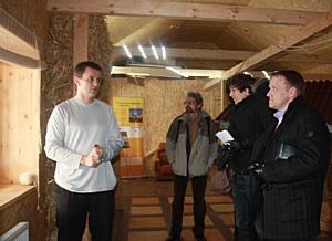 Совет по экологическому строительству посетил эко-дом FREEDOM в Москве